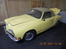 VW Karmann convertble